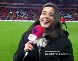 Ngưỡng mộ bản lĩnh của nữ phóng viên đưa tin hiện trường