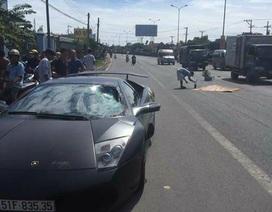 Siêu xe Lamborghini tông chết người đi bộ qua đường