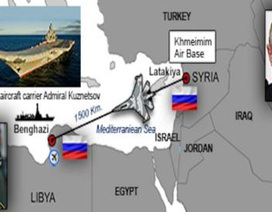 Lập căn cứ ở Libya, Nga thâu tóm Địa Trung Hải