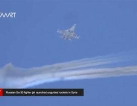 Tiêm kích Su-35 phóng rocket rực trời Hama