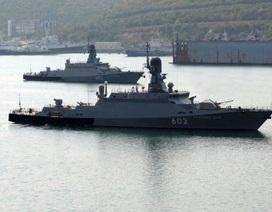 Mang Kalibr, tàu Nga bất ngờ nhận nhiệm vụ mật