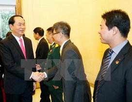 Chủ tịch nước Trần Đại Quang thăm Đại sứ quán Việt Nam tại Trung Quốc