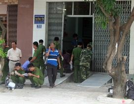 Nổ mìn trước cổng doanh nghiệp, chủ bị thương nặng
