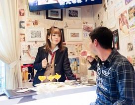Nở rộ các quán cà phê hẹn hò với nữ sinh ở Nhật Bản
