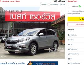 Giá Honda CR-V xuống đáy, vẫn đắt hơn 40 - 200 triệu đồng ở ASEAN, Mỹ