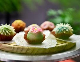 Đẹp lạ bánh Trung thu tạo hình thủ công phong cách Nhật Bản