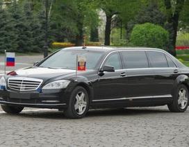 Hé lộ limousine của Tổng thống Putin vừa tới Đà Nẵng
