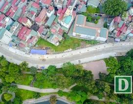 Hà Nội: Đường uốn lượn bên hồ Bảy Mẫu sắp hoàn thành