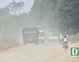 """Tránh trạm BOT Bắc Thăng Long - Nội Bài, xe tải """"cày nát"""" tỉnh lộ"""
