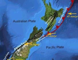 """""""Quái vật"""" cựa mình bên dưới New Zealand"""