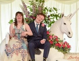 Đám cưới hạnh phúc của cặp vợ chồng cùng mắc hội chứng Down