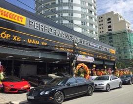 Trung tâm lốp ô tô Pirelli chính hãng khai trương ở TP HCM