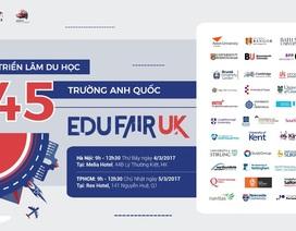 Những suất học bổng chỉ có tại Triển lãm Du học 45 trường Anh Quốc