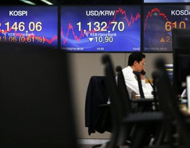 Thị trường châu Á tụt dốc vì căng thẳng Mỹ - Bắc Triều Tiên