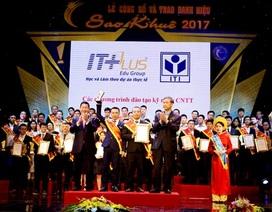 Tổ hợp Giáo Dục ITPlus nhận Giải Sao Khuê 2017