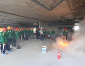 Sacomreal hưởng ứng Tháng hành động An toàn, vệ sinh lao động