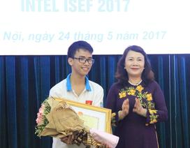 Việt Nam xếp thứ 3 thế giới trong Hội thi Khoa học Kỹ thuật Quốc tế tại Mỹ