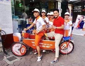 Sôi động hành trình chia sẻ năng lượng của Hồng Đăng