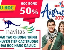 Săn học bổng du học Úc 50% từ Tập đoàn giáo dục Navitas 2017