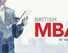 Học Bổng MBA Anh Quốc ngay tại Việt Nam