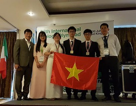 Việt Nam đoạt 1 Huy chương vàng, 2 Huy chương bạc Olympic Sinh học quốc tế