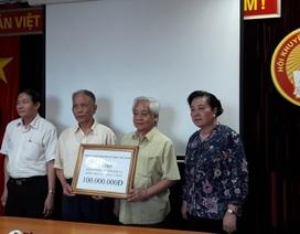 Quỹ Khuyến học Việt Nam hỗ trợ 100 triệu đồng tới Hội Khuyến học Sơn La khắc phục hậu quả do lũ