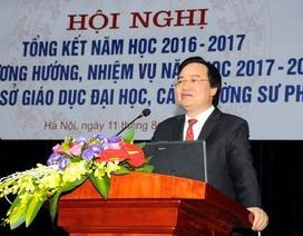 Bộ trưởng Phùng Xuân Nhạ: Sẽ xem xét điều chỉnh điểm ưu tiên cho phù hợp