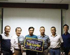 Thế Giới Di Động trao thưởng Camry 1,1 tỷ đồng cho khách mua Samsung