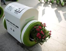 Hiệu ứng lan tỏa của những chiếc thùng rác thông minh