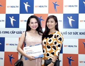 MC Mỹ Lan, Hoàng Linh tìm ra giải pháp mới cho việc quản lý và lưu trữ hồ sơ sức khỏe.
