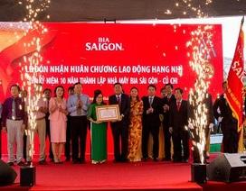 Nhà máy Bia Sài Gòn - Củ Chi: Tự hào chặng đường 10 năm hình thành & phát triển