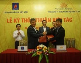 PVN và Vietnam Airlines ký thỏa thuận hợp tác
