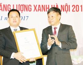 Vinh danh công trình tiêu biểu sử dụng năng lượng xanh tại Hà Nội