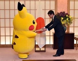 Pikachu và Hello Kitty được phong làm đại sứ văn hóa ở Nhật