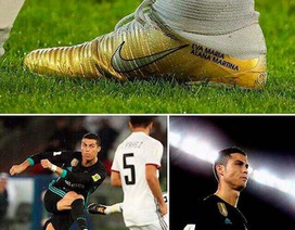 Bật mí cô con gái được C.Ronaldo nhớ đến trong từng bước chạy