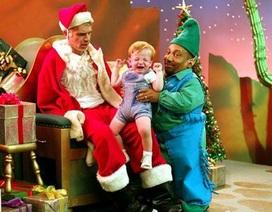 """Khi các sao đình đám """"rủ"""" nhau làm ông già Noel"""