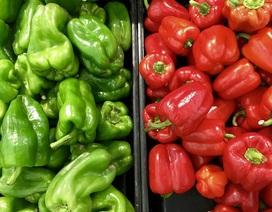 10 lợi ích sức khỏe tuyệt vời của ớt chuông