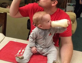 Những ông bố biến việc trông con trở thành công việc tuyệt vời nhất thế giới