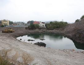 """Quảng Ninh: Hơn 1000 hộ dân phải sống bên """"hố tử thần"""" vì nạn khai thác than thổ phỉ"""