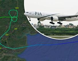 Chiến đấu cơ đuổi theo máy bay chở khách để bắt tội phạm truy nã