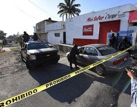 Quân đội Mexico xối đạn diệt trùm ma túy từ trực thăng