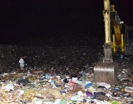 Phát hiện cẳng chân người trong túi nylon tại bãi rác lớn nhất Trà Vinh