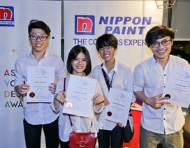 """Sinh viên Việt xuất sắc lọt top 3 vòng châu lục """"Nhà thiết kế trẻ Châu Á"""""""
