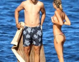 """Chuẩn bị gia nhập MU, Morata vẫn mải mê """"du hí"""" với vợ yêu"""