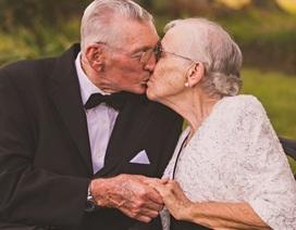 """Bộ ảnh kỷ niệm 65 năm ngày cưới """"tình cảm hết nấc"""" khiến ai xem cũng phát thèm"""