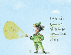 Nét vẽ kể những câu chuyện về ước mơ của trẻ nhỏ