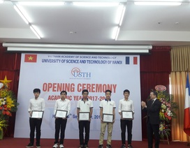 Đại học Việt - Pháp khai giảng năm học mới