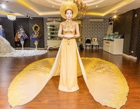 Hoa Hậu Hải Dươngsang trọng với trang phục đính 1 triệu viên pha lê