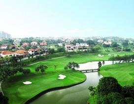 Toàn cảnh sân golf đoàn Việt Nam thi đấu tại Malaysia giải WAGC 2017