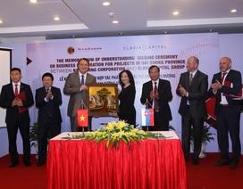 Nam Cường hợp tác cùng đối tác Trung Âu đầu tư tại Hải Dương
